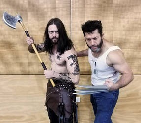 Old School/New School - Rollo and Wolverine