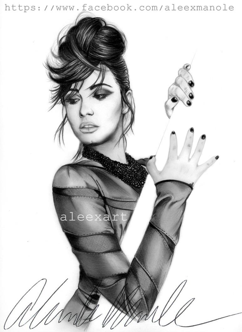 Demi Lovato - Heart Attack (aleexart) by aleexart