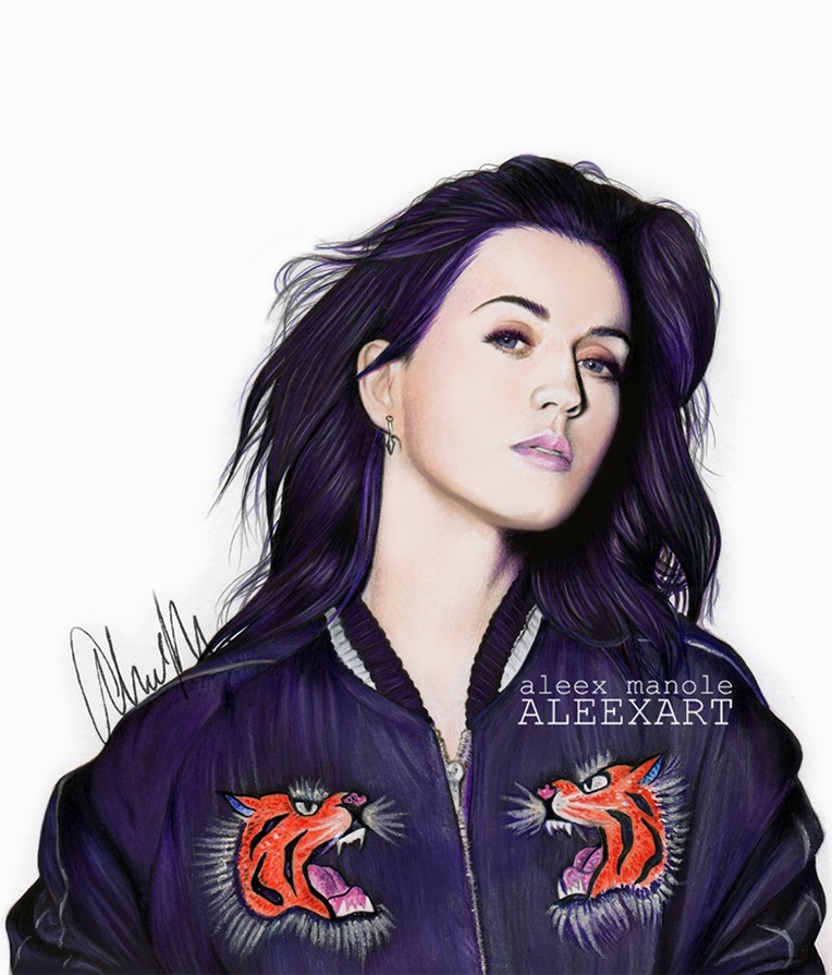 katy perry roar by aleexart on deviantart