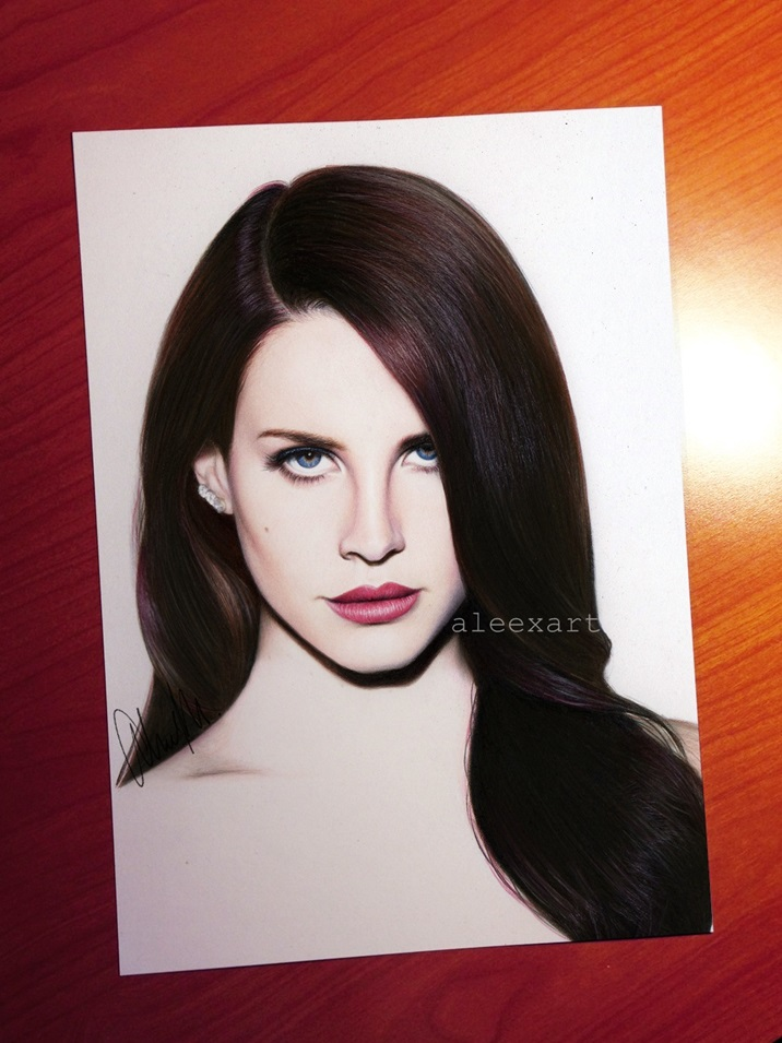 Lana del rey by aleexart on deviantart for Lana del rey coloring pages