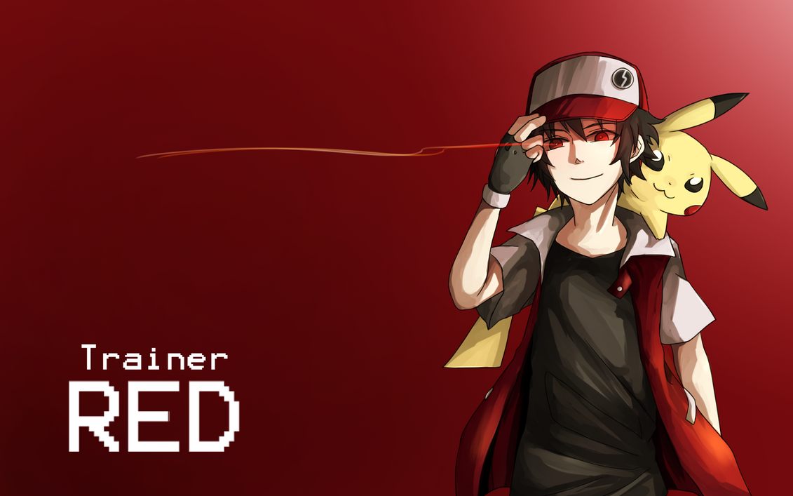 Pokemon Trainer Red | Wallpaper Gallery