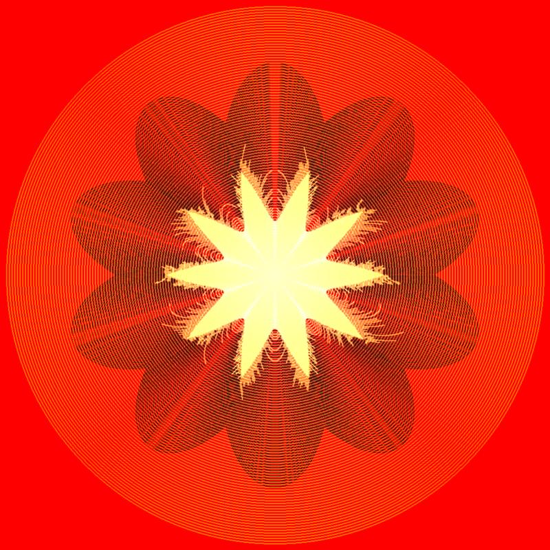 Fire Flower by dionyziz