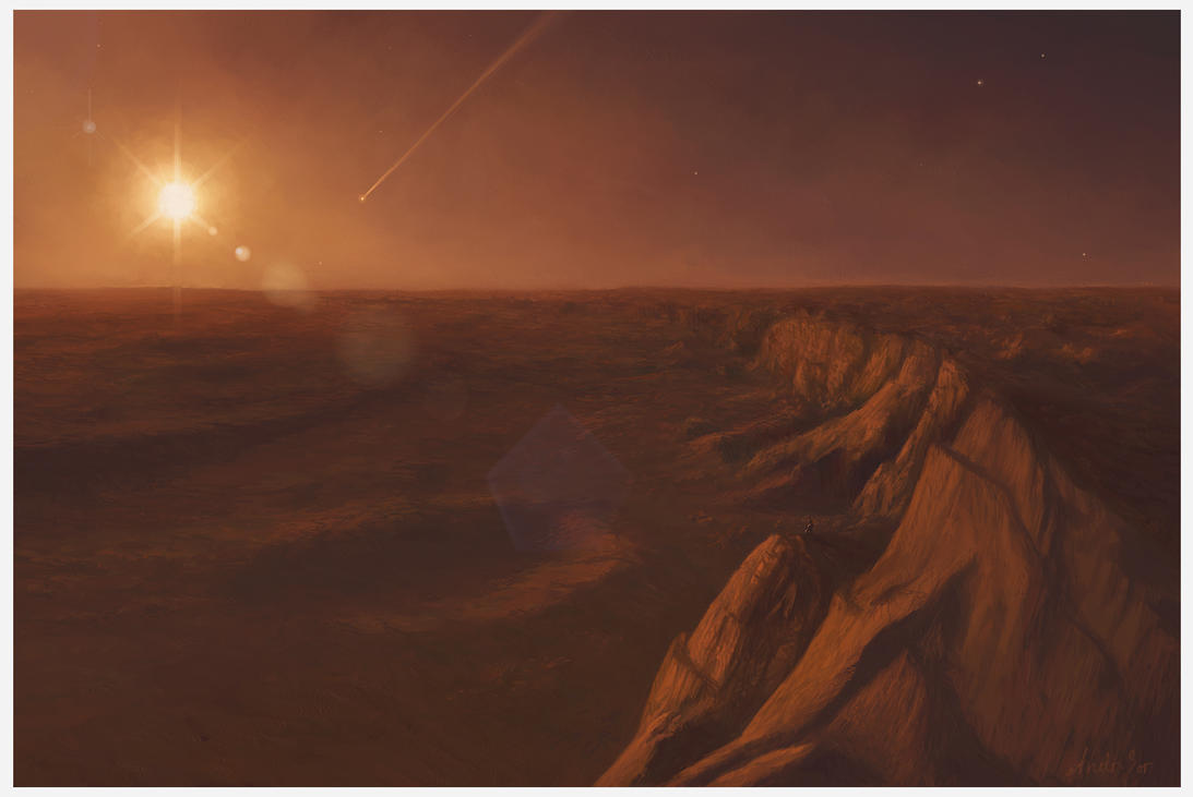 Mars' Valley by Andr-Sar