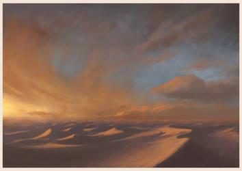 Desert Sea by Andr-Sar