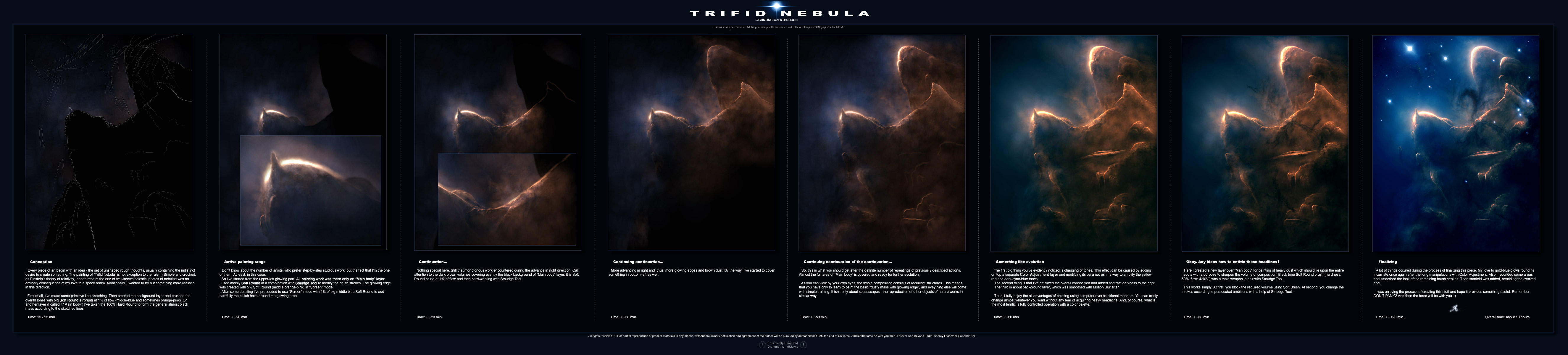 TRIFID NEBULA WALKTHROUGH by Andr-Sar