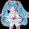 Pixel Miku by Felune-Bun