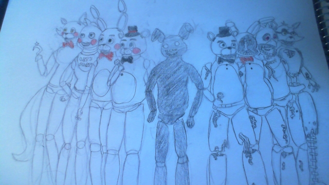 Fnaf FINISHED by PokeMeW2