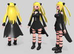 Yami inflatable doll by squeakscience