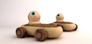 Wood car toys