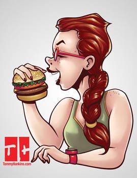 Foodie Ladies #3: CheeseBurger