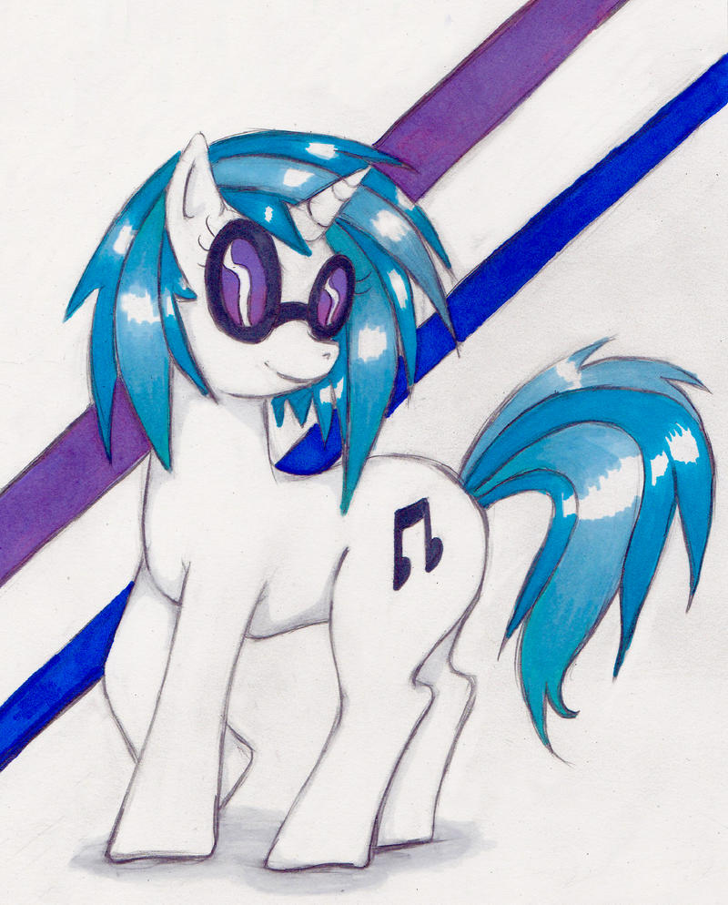 DJ Pon-3 Marker by About12Kittens