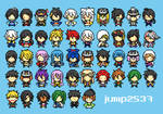 [FA] Pixel All Character Touken Ranbu