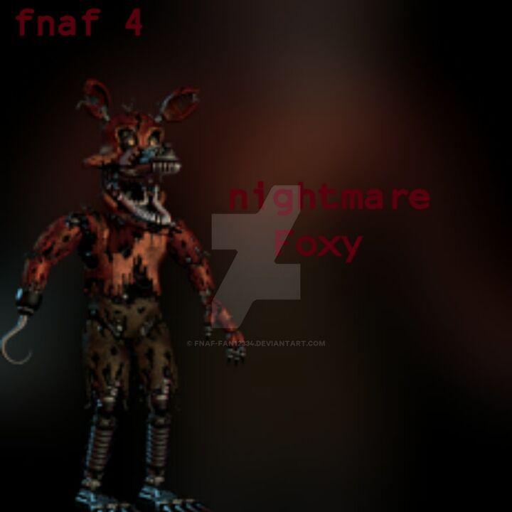 FNAF 4 NIGHTMARE FOXY CONFIRMED!! || *NEW* FNAF 4 TEASER - YouTube