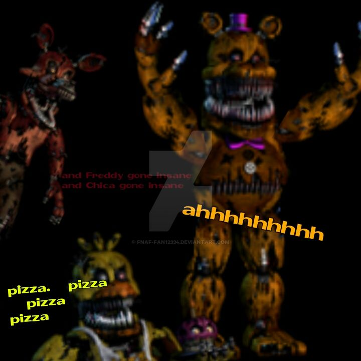 How to make fnaf 4 not scary by fnaf fan12334 on deviantart - Fnaf 3 not scary ...