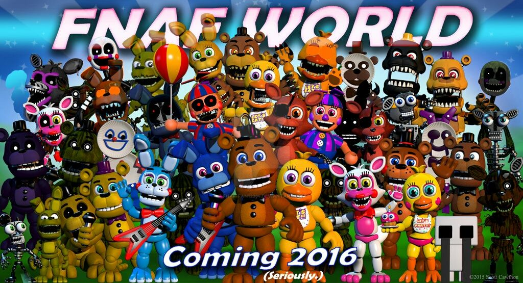 Fnaf WORLD ADVENTURE HALLOWEEN ANIMATRONICS by fnaf-fan12334 on ...