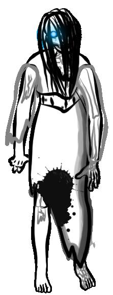 Twilit's Sketchbook - Page 3 Ghost_lady_by_phasmasilvia-d7odaim