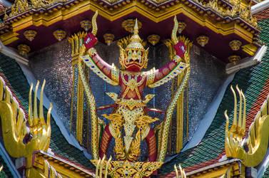 Wat Phra Kaew Symmetry by KML032