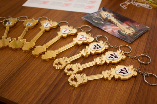Fairy Tail 2: the Celestial Spirit Keys!