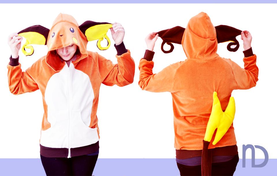 Raichu hoodie