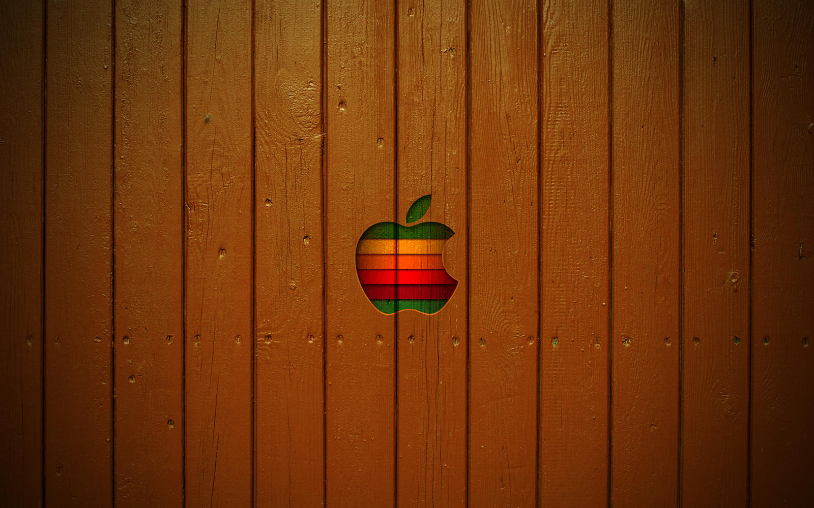 Mac Wooden Style Wallpaper by ulrikstoch