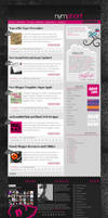 Nymphont Blog Design