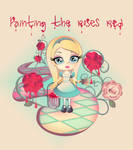 Painting the Roses Red - Alice