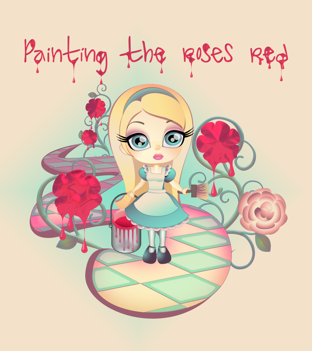 Painting the Roses Red - Alice by nymphont
