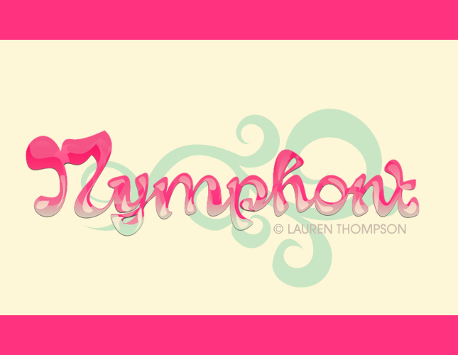 Nymphont Bubble Logo 2 by nymphont