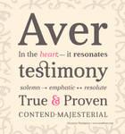 Aver Typography