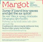 Margot Font Specimen