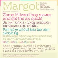 Margot Font Specimen #4