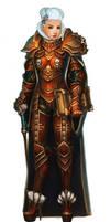 Inquisitor Aurelia Snegova by Khantian