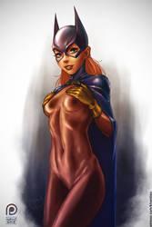 Batgirl [NSFW] by Khantian