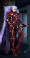 Inquisitor Anna `White Wolf` Cheremsha by Khantian