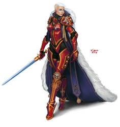 Inquisitor Anna Cheremsha by Khantian
