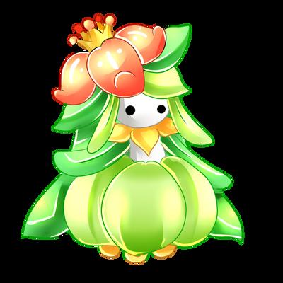 lilligant by Maruuki