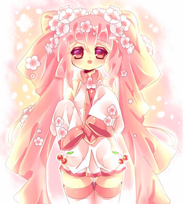 Sakura miku by Maruuki