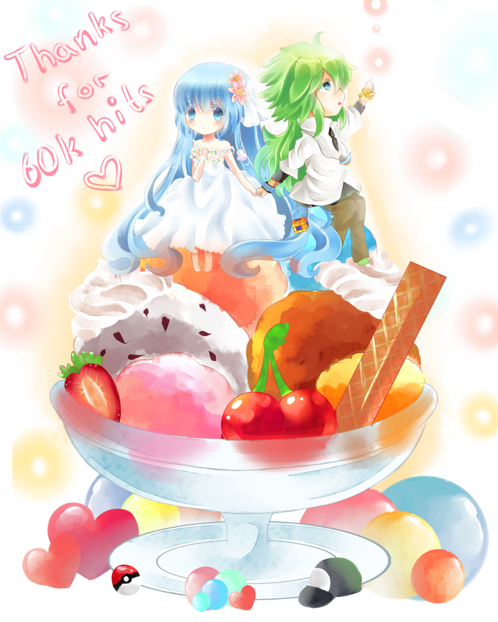 Big sundae by Maruuki