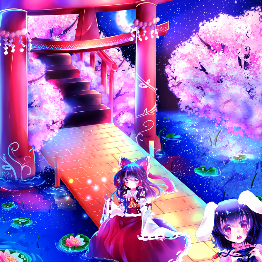MoonSky in Gensokyo by Maruuki