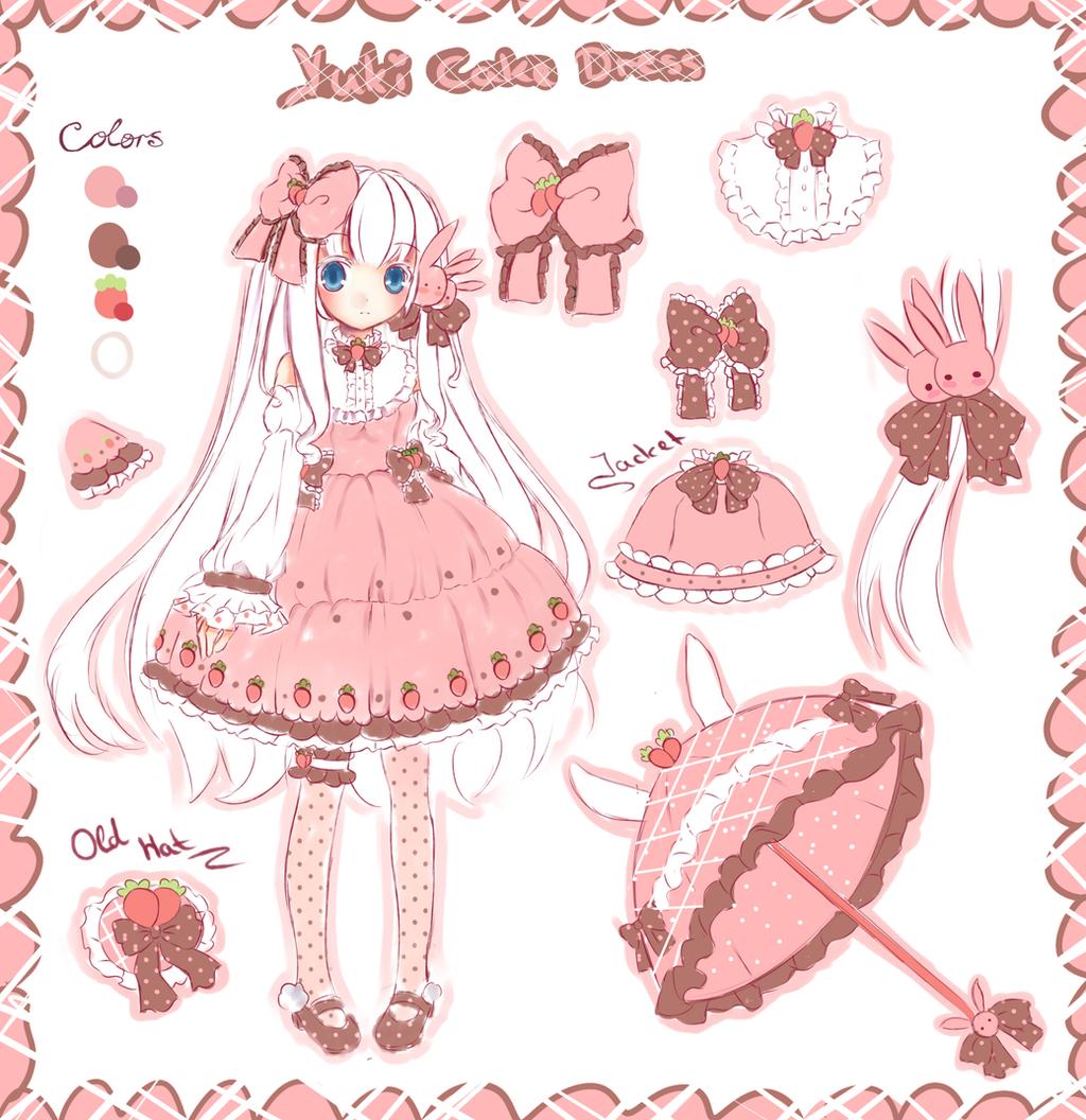 Cake Dress design( EDIT NEW DESIGN!!!!!) by Maruuki