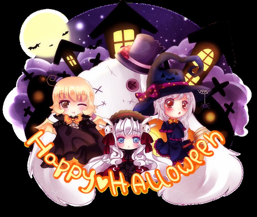 Happy Halloween by Maruuki