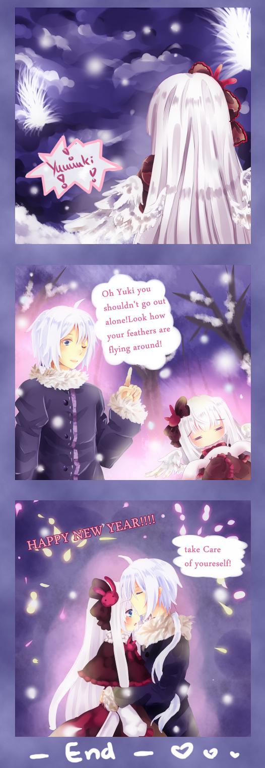 Happy new year by Maruuki