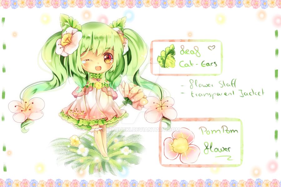 Mahou Shoujo Leaf Cat Pom AutoBuyed by Maruuki