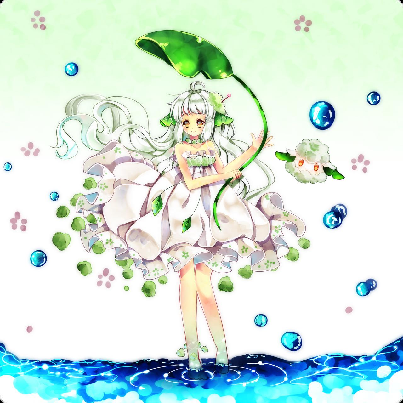 CottoneeGijinka Hanami by Maruuki