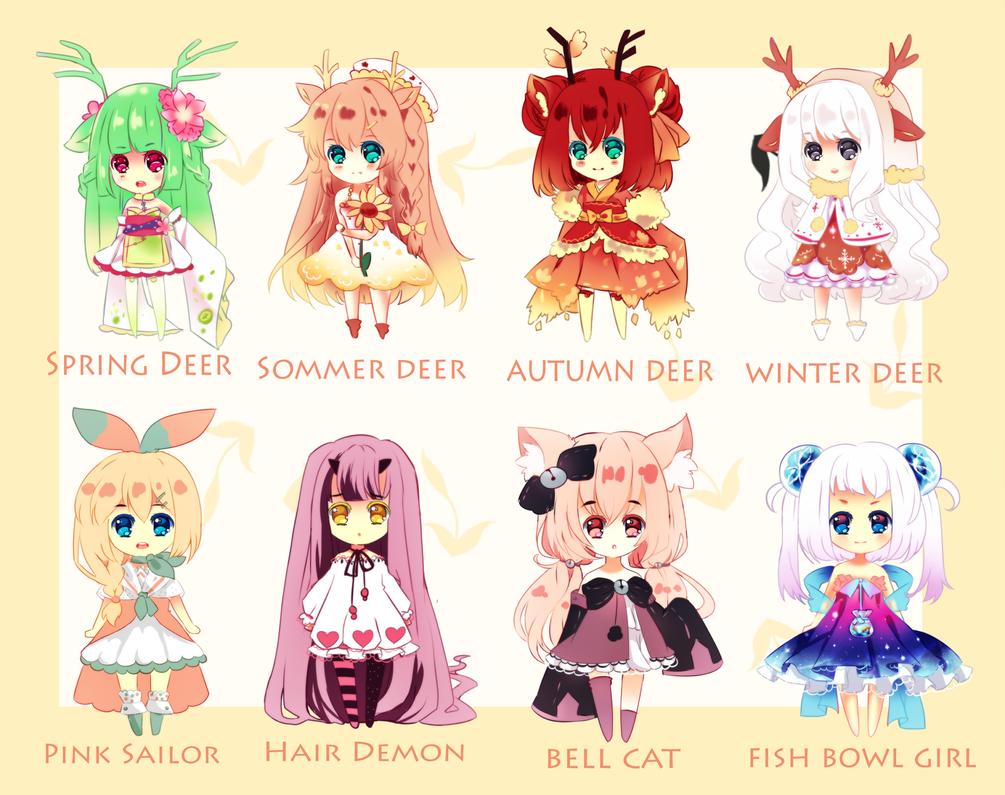 Season Deer Closed by Maruuki