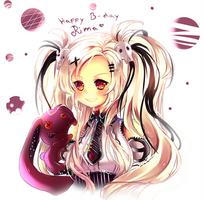 Happy Birthday RimaPichi + Speedpaint by Maruuki
