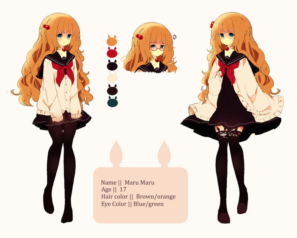 MaruMaru Doodle ref [updatet outfits] by Maruuki