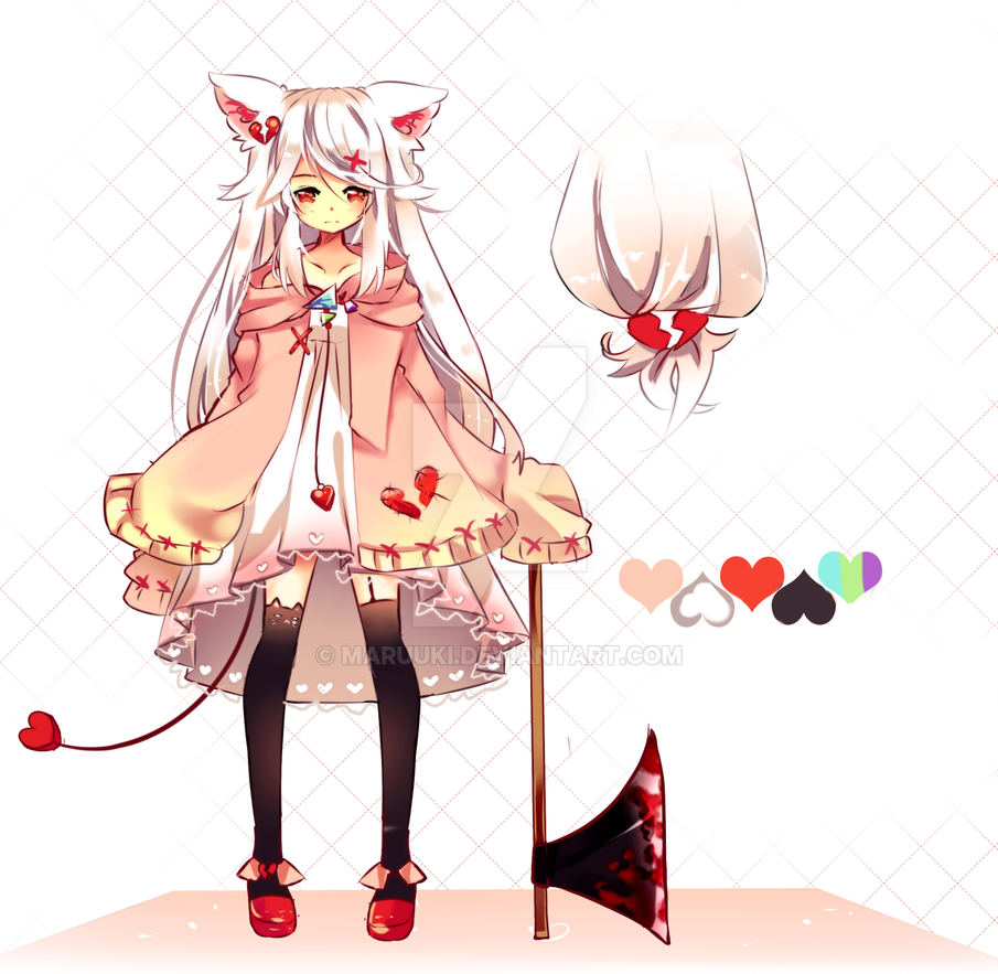 Valentines Yandere Special Auction Adoptable CLOSE by Maruuki