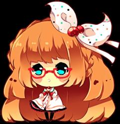 MeganeMaru Bubble Chibi by Maruuki