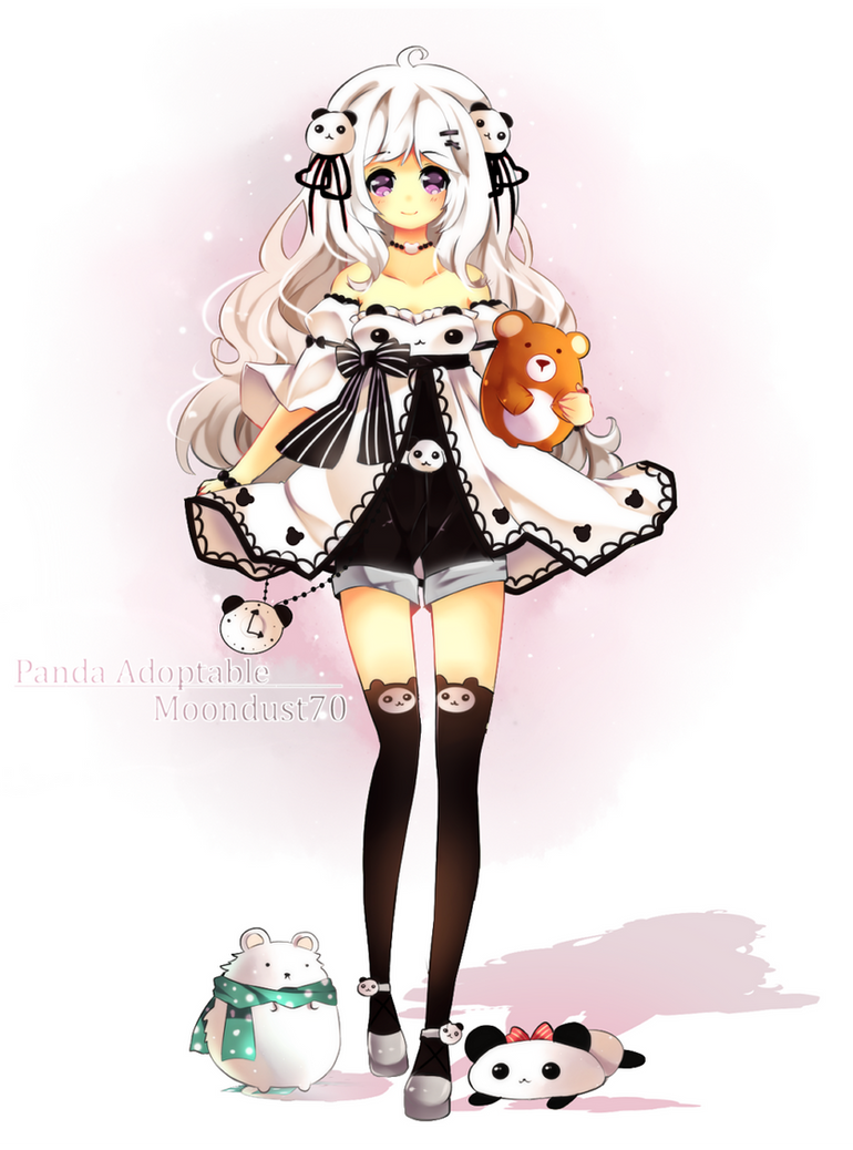 Panda Girl On tour by Maruuki